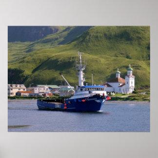 Nordic Mariner, Crab Boat in Dutch Harbor, AK Print