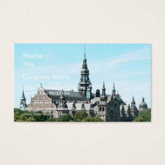 Nordic Museum Business Card