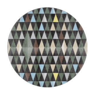 Nordic Nature | Colorful Black Pattern Design Cutting Board
