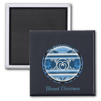 Nordic North Christmas Magnet