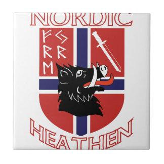 Nordic pagano azulejo cuadrado pequeño