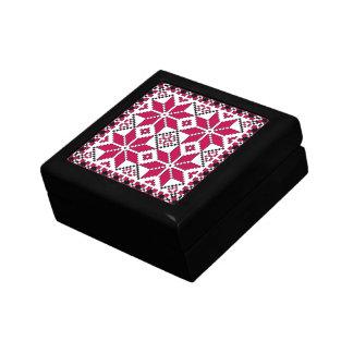 Nordic Star Giftbox (red & black) Jewelry Box