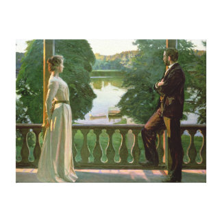 Nordic Summer Evening, 1899-1900 Canvas Prints