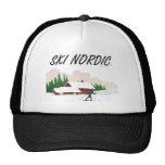 Nordic SUPERIOR del esquí Gorra