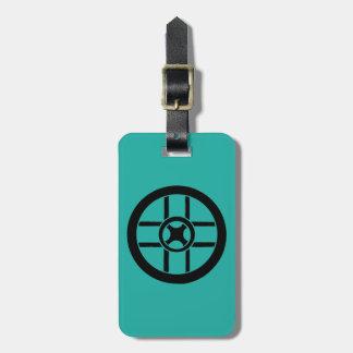 Nordic Symbol: Wheel Cross Luggage Tag