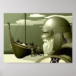 Nordic Vikings Poster