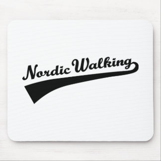 Nordic Walking Mouse Pad