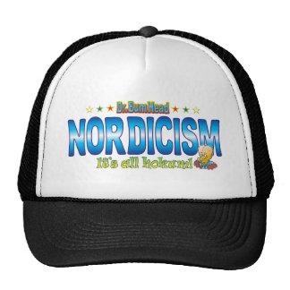 Nordicism Dr. B Head Trucker Hat