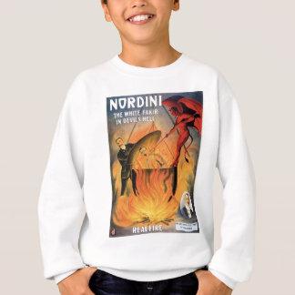 Nordini~ en acto mágico del vintage del infierno sudadera