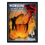 Nordini ~ The White Fakir in Devil's Hell Postcard
