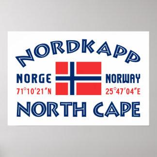 NORDKAPP Norway poster