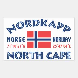 NORDKAPP Norway stickers