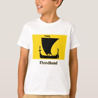 Nordland flag with name T-Shirt