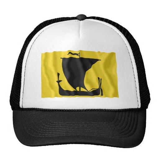 Nordland waving flag mesh hats