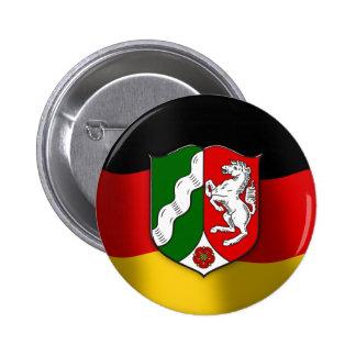Nordrhein-Westfalen coat of arms Button