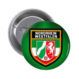 Nordrhein-Westfalen Flag Button