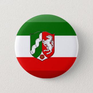 Nordrhein-Westfalen Flag Gem Button