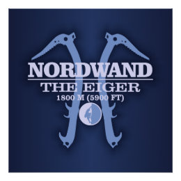 """Nordwand """"The Eiger"""" Poster"""
