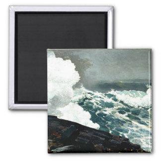 Noreaster - Winslow Homer artwork Magnet