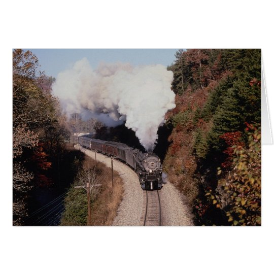 Norfolk and Western, No. 1218, near Old Fort, Nort Card