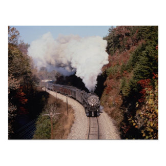 Norfolk and Western, No. 1218, near Old Fort, Nort Postcard