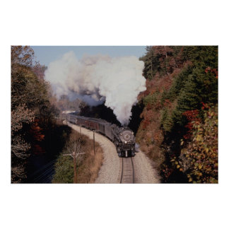 Norfolk and Western, No. 1218, near Old Fort, Nort Poster