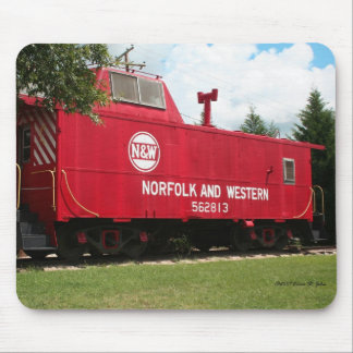 Norfolk and Western Railcar Mouse Pad