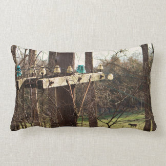 Norfolk and Western Railroad Pole Line On Pillow