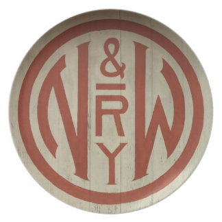 Norfolk and Western Railway Logo Plate