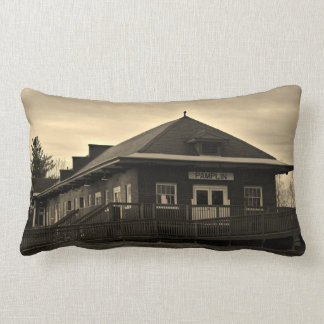 Norfolk and Western Railway Pamplin Station Pillow