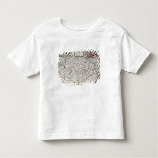 Norfolk, engraved by Jodocus Hondius T-shirt