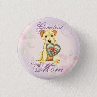 Norfolk Heart Mom Button
