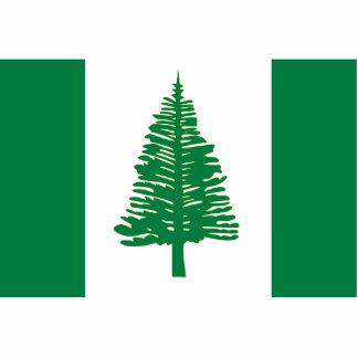 Norfolk Island, Australia flag Photo Sculpture