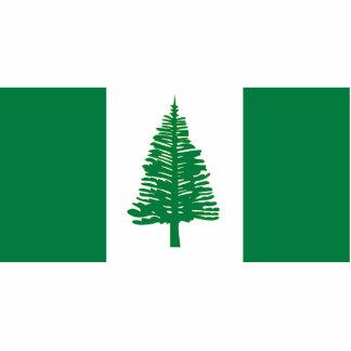 Norfolk Island, Australia flag Acrylic Cut Outs