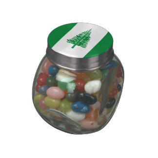Norfolk Island Jelly Belly Candy Jars