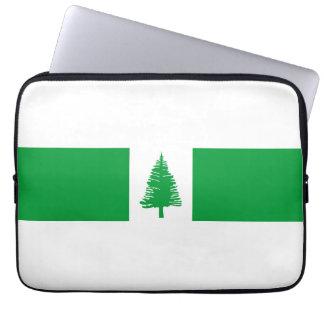 Norfolk Island country flag nation symbol Computer Sleeve
