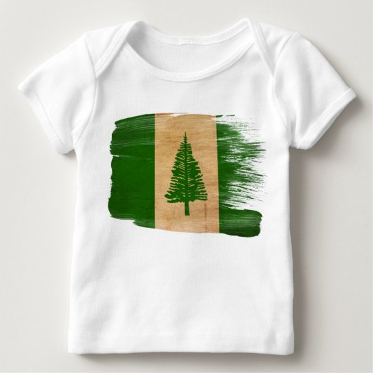 Norfolk Island Flag Baby T-Shirt