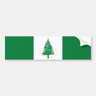 Norfolk Island Flag. Commonwealth of Australia Bumper Sticker