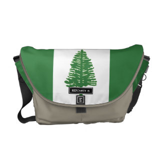 Norfolk Island Flag Messenger Bag