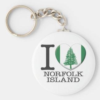 Norfolk Island Keychain