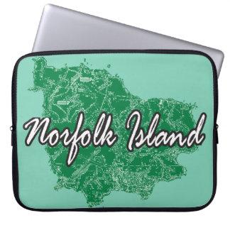 Norfolk Island Laptop Sleeve