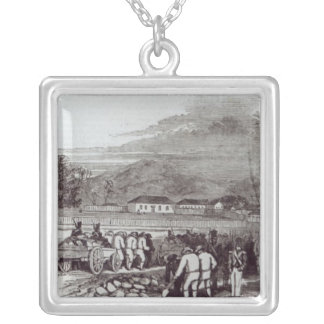 Norfolk Island Silver Plated Necklace