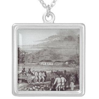 Norfolk Island Square Pendant Necklace