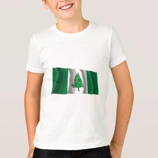 Norfolk Island Waving Flag T-Shirt