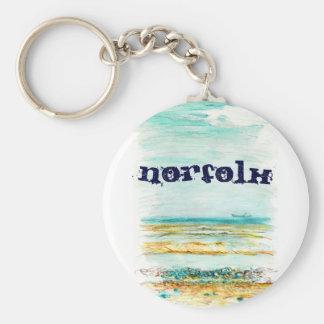Norfolk Keychain