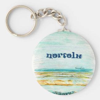 Norfolk Keyring Keychain