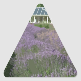 NORFOLK LAVENDAR-HEACHAM TRIANGLE STICKER