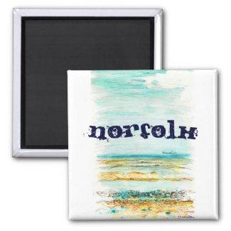 Norfolk Magnet magnet