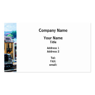 Norfolk Southern 8324 and 8676 Locomotives Double-Sided Standard Business Cards (Pack Of 100)