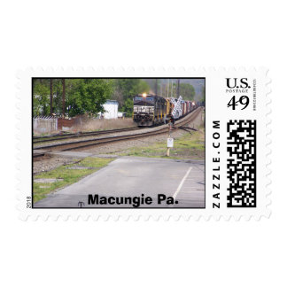 Norfolk Southern C-40-9W #9265 at Macungie Pa. Postage